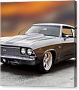 1968 Chevrolet Chevelle Ss L Canvas Print