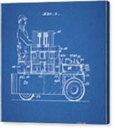 1968 Lift Truck Patent Canvas Print