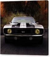 1969 Camaro Ss Canvas Print
