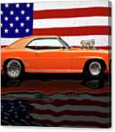 1969 Camaro Tribute Canvas Print