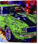 1969 Camaro Z28 Canvas Print