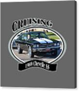 1969 Chevelle Ss Nuckolls Canvas Print