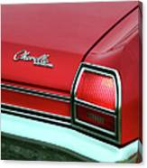 1969 Chevy Chevelle Ss 396 Canvas Print