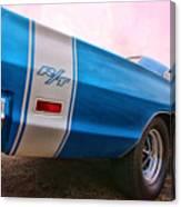 1969 Dodge Coronet Rt Canvas Print