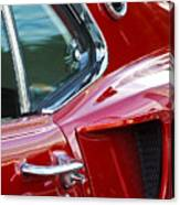 1969 Ford Mustang Mach 1 Side Scoop Canvas Print