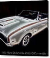 1969 Hurst Oldsmobile 455 Ho Electric Canvas Print
