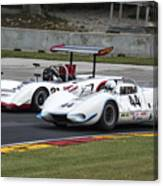 1969 Lola T163 And 1965 Wolverine Road America Canvas Print