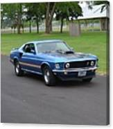 1969 Mach I Garland Canvas Print