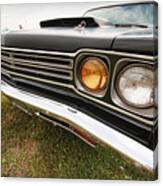1969 Plymouth Road Runner 440-6 Canvas Print