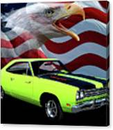 1969 Plymouth Road Runner Tribute Canvas Print