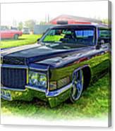 1970 Cadillac Deville - Vignette Canvas Print