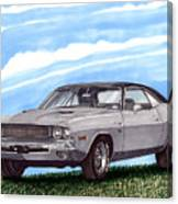 1970 Dodge Challenger Canvas Print