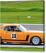1970 Ford Mustang Canvas Print