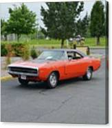 1970 Hemi Charger Rt Asher Canvas Print