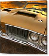 1970 Oldsmobile 442 W-30 Canvas Print