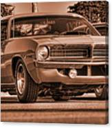 1970 Plymouth Hemi 'cuda Canvas Print