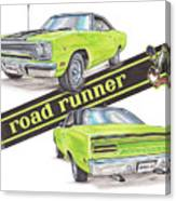 1970 Plymouth Road Runner Canvas Print