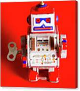 1970s Wind Up Dancing Robot Canvas Print