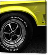 1971 Ford Mustang Mach 1 Canvas Print
