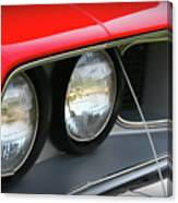 1971 Plymouth Barracuda Cuda Red  Canvas Print