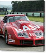 1972 Chevy Corvette At Road America Canvas Print