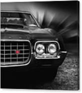1972 Ford Gran Torino, Sport Fastback Canvas Print