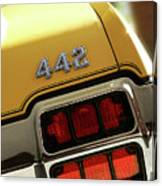 1972 Oldsmobile Cutlass 4-4-2 Canvas Print