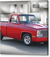1973 Chevrolet C10 Fleetside Pickup II Canvas Print