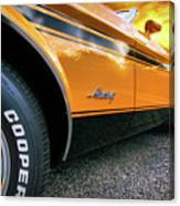 1973 Ford Mustang Canvas Print