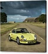 1973 Porsche 2.7 Rs Canvas Print