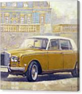 1973 Rolls-royce Silver Shadow Canvas Print