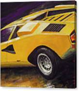 1974 Lamborghini Countach Lp400 Canvas Print
