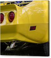 1976 Corvette Stingray Taillights Canvas Print