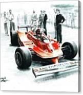 1980  Ferrari 312t5 Canvas Print