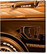 1980 Pontiac Trans Am Canvas Print