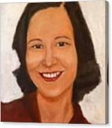 1980 Portrait Canvas Print