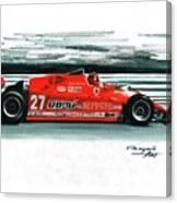 1981  Ferrari 126cx Canvas Print