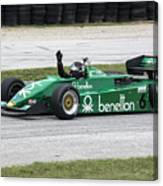 1983 Tyrrell 011 F1 At Road America Canvas Print