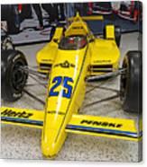 1987 Indianapolis 500 Winner Al Unser Canvas Print