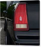 1988 Monte Carlo Ss Tail Light Canvas Print