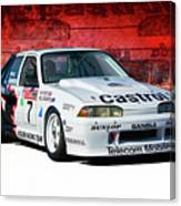 1989 Vl Commodore Walkinshaw Canvas Print