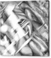 1990 2 Canvas Print
