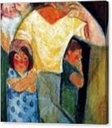 19917 Manuel Ruiz Pipo Canvas Print