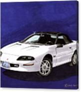 1995 Camaro Convertible Canvas Print
