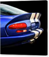 1995 Dodge Viper Coupe 'tail' Canvas Print