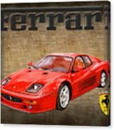 Ferrari F 512m 1995 Canvas Print