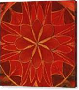 1st Mandala - Root Chakra Canvas Print