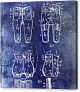 1927 Football Pants Patent Canvas Print