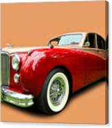 1953 Jaguar M K V II Canvas Print