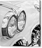 1959 Chevrolet Corvette Grille Canvas Print